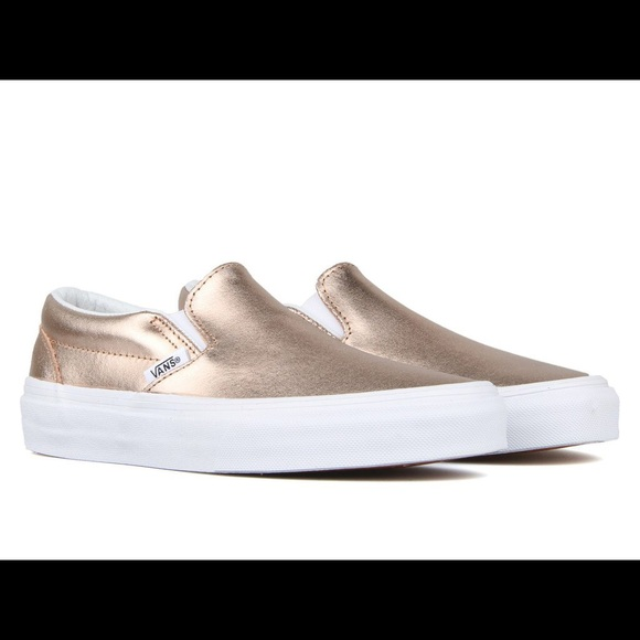 bee089763ca Vans Classic slip on rose gold